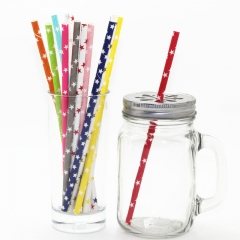 Star Paper Straws Wholesale