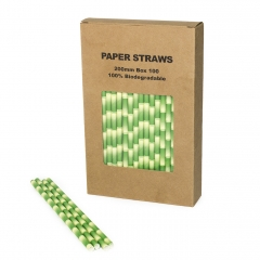 Environment Friendly Paper Straws Wholesale