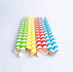 10mm BUBBLE TEA Paper Straws