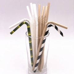 U-Shape paper Straws wholesale